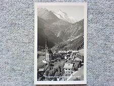 1 alte AK Österreich, Heiligenblut mit Großglockner Kärnten ungelaufen um 1940