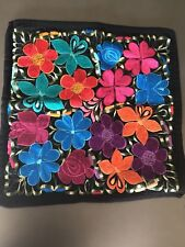 Mexican Embroided Pillow Cover