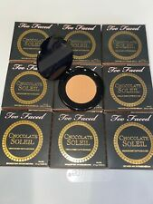 9x Too Faced Chocolate Soleil Matte Bronzer 0.08oz, Travel, Smells Of Chocolate
