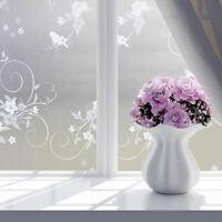 Selbstklebend Fensterfolie Sichtschutzfolie Milchglasfolie Glasdekorfolie Blumen