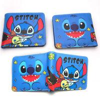 lilo&stitch short purse wallet money card bags handbag purse anime new