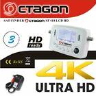 OCTAGON SAT-FINDER SF-418 LCD HD DVB-S / DVB-S2 4K UHD