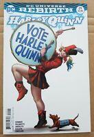 Harley Quinn #29 Comic - FRANK CHO VARIANT ~ Vote Harley Edition 🔥🔥