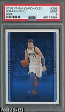 2018 Panini Chronicles #296 Luka Doncic RC Rookie Blue #/99 PSA 9 Centered