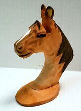 PEEPERS Hand Carved Wood HORSE Eyeglasses HOLDER Sunglasses / Eyewear STAND