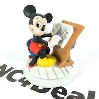 Rare Vintage Mickey Mouse Sketch Artist Disney Figurine Artist Drawing Desk