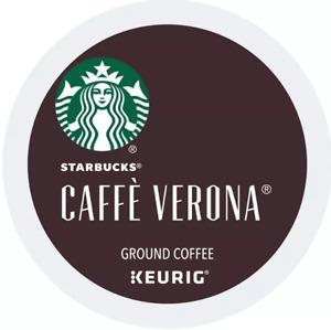 STARBUCKS Caffe Verona Coffee K-Cups Dark Roast 88 count- New Box