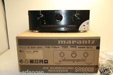 Marantz SR6008 7.2 Heimkino 4K,3D Netzwerk AV-Receiver Schwarz W.NEU / OVP