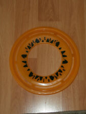 1978 WHAM-O  Coaster Frisbee,  color: Yellow-Gold
