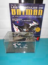 17.04.17.3 Eaglemoss voiture Batman classic tv series batcycle batmoto DC 1/43