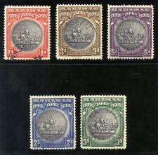 Bahamas 1930 KGV Tercentenary set complete very fine used. SG 126-130. Sc 85-89.