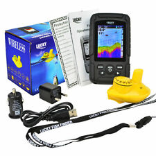 Colour Wireless Fish Finder - 180 Metre Range, Depth, Features, Fish, Carp, Boat
