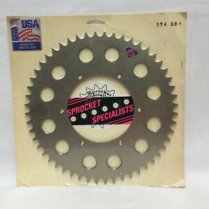Husaberg 350 400 501 600 1990-1997 Rear Sprockets Hardened Aluminum 52 Tooth 174