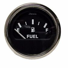 Faria Fuel Gauge 33 to 240 Ohm Electric Dash Mounted 035727-10 Moeller Marine MD