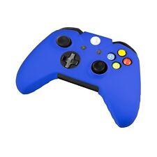 COQUE de PROTECTION SILICONE pour  MANETTE XBOX ONE BLEUE + 2 pour joysticks