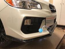 2018 V-Limited Style Front Bumper Lip Urethane For Subaru WRX / STI