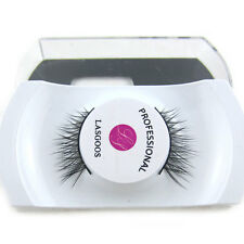 LASGOOS Luxurious Reusable 100% Siberian Mink Fur Half / Corner False Eyelashes