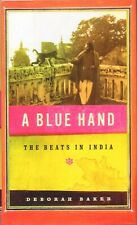 A Blue Hand The Beats in India BOOK Allen Ginsberg Travel Beat Generation HC