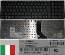 Clavier Qwerty Italien HP 6820S MP-06706I0-9301 454220-061, 456587-061 Noir