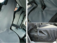 Ford Transit Custom 2013-2015 Tailored Fitted Grey Heavy Duty Van Seat Covers