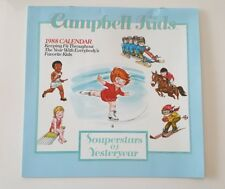 Campbell's Soup Vintage 1988 Special Edition Campbell Kids Calendar Pop Art New