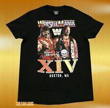 New Wwe WrestleMania Xiv 1998 Stone Cold Shawn Michaels Vintage Mens T-Shirt