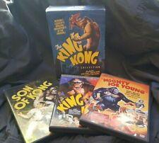 The King Kong Collection (Dvd, 2005, 4-Disc Set) King Kong, Son of Kong, Mjy!