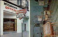 Meridian MS McCormack Optical Dispensary - Vintage Advertising Postcard