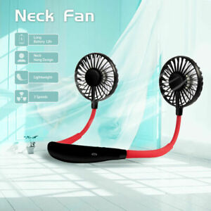 Neck Fan Hanging USB Charging Travel Creative Neck Lazy Tool Portable Sport Fan
