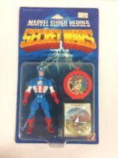 MARVEL SUPER HEROES SECRET WARS CAPTAIN AMERICA ACTION FIGURE MOC