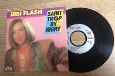 45 tours Bibi Flash Saint-Trop by night / Entre plaisir et désir 1985 comme NEUF