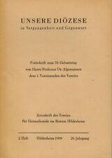 b116df78fd5455 Unsere Diözese Hildesheim i Vergangenheit Gegenwart 2/1959, Festgabe  Algermissen