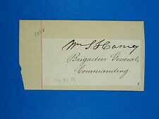 Extremely Rare 1848 Signature Of Brig. Gen. William S. Harney Autograph