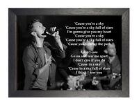 Status Quo 4 English Boogie Rock Band Poster Music Star Photo Black White Print