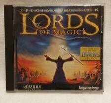 Lords of Magic PC Windows 95 Video Game Computer CD 1997