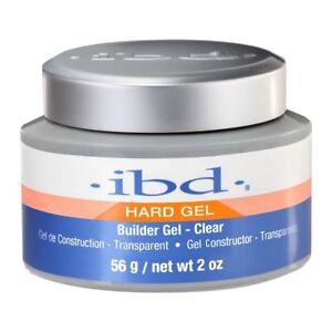 IBD Builder Gel Hard Gel Clear 2 oz LED/UV On Sale