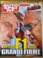AUTOSPRINT EXTRA Allegato n°11 2008  - Montezemolo & Raikkonen  [P67]