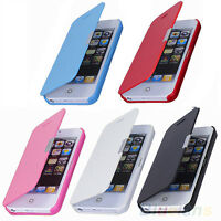 PERFECT HARD MAGNETIC FLIP LEATHER SKIN POUCH SLEEVE CASE COVER FOR IPHONE 5S 5G