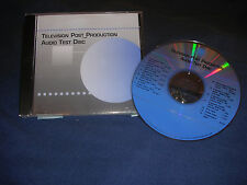 Audio Test Disc-Freq. Sweeps/Pink Noise/Phase-Audiophile/Studio