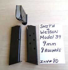 1 SMITH & WESSON MODEL 39 MAG MAGAZINE 9MM 8 ROUND S&W (INV#80)