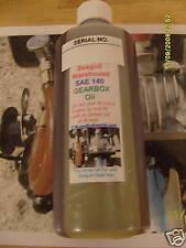 seagull gear box oil