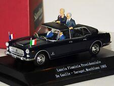 LANCIA FLAMINIA PRESIDENZIALE DE GAULLE SARAGAT MONTBLANC 1965 STARLINE 1/43