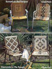Chairs-Stools-Lawn-Mag. Racks~Macrame Pattern Book~The Second Furniture Fan-Fare