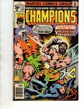 The Champions#12 (Marvel 1976) Ghost Rider,Black Widow,Hercules-VF-