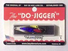 "Bay de Noc Do Jigger- Nickel Blue - #1 - 1 3/4""- 1/6 oz."