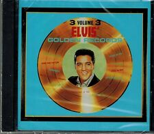 ELVIS PRESLEY - GOLDEN RECORDS - VOL.3 - NEW SEALED CD - 12 SONGS