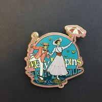 DLR - Mary Poppins - Mary & Bert Disney Pin 32381