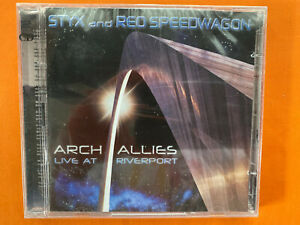 Styx and REO Speedwagon - Arch Allies live at Riverport CD album (new & sealed)