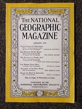 National Geographic Magazine January 1948 West Indies, Seal Hunting, Pyramids