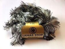 10 Stü. Lanas Stop RABBIT Farbe 700 Luxuswolle 10x50 Gramm Pelz Wolle Garn*